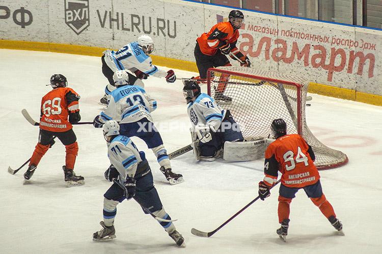 ЮХЛ: «Ермак» - «Сибирь-2002» матч 1
